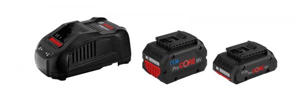 Bosch ProCORE Starter-Set 1 x ProCORE18V 4.0Ah + 1 x ProCORE18V 8.0Ah + GAL 1880 CV (1600A01BA8)
