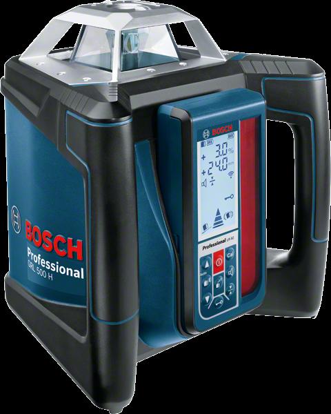 Bosch GRL 500 H Set+LR 50+BT 170HD+GR 240 Rotationslaser (06159940EE)