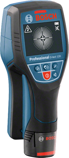 Bosch Professional D-tect 120 Professional Wallscanner (0601081300), max. Ortungstiefe 12 cm
