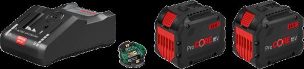 Bosch ProCORE Starter-Set 2 x ProCORE18V 12.0Ah + GAL 18V-160 C + GCY 42 (1600A016GY)