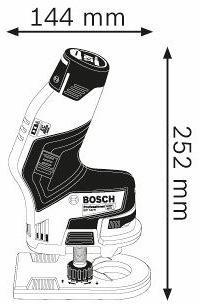 Bosch GKF 12V-8 Kantenfräse (06016B0002)
