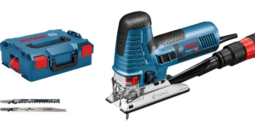 Bosch Professional GST 160 CE Elektro-Pendelhubstichsäge inkl. L-Boxx + Zubehör (0601517004)