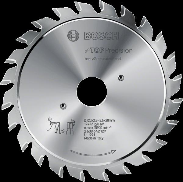Bosch Kreissägeblatt Top Precision Best for Laminated Panel Abrasive (2608642126)