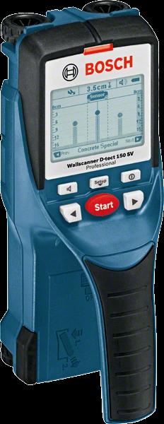 Bosch Wallscanner D-tect 150 SV Ortungsgerät (0601010008)