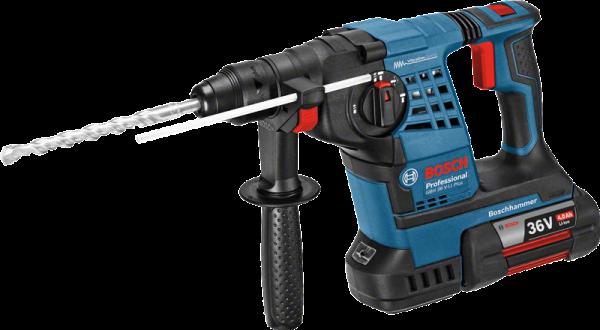 Bosch GBH 36 V-LI Plus Akku-Bohrhammer mit SDS-plus (061190700B)
