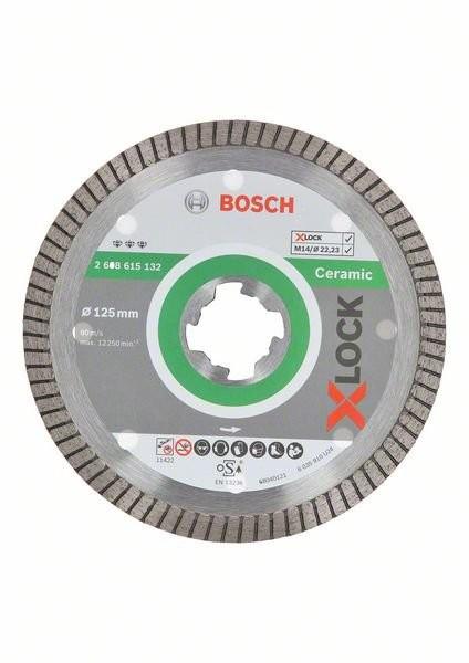 X-LOCK Diamanttrennscheibe Best for Ceramic Extra Clean Turbo 125 x 22,23 x 1,4 x 7 (2608615132)