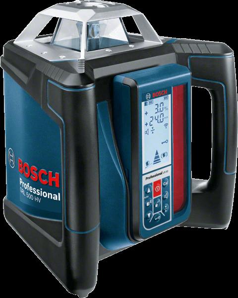 Bosch Professional GRL 500 HV + LR 50 Rotationslaser (06159940EF)