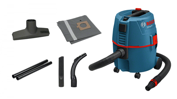 Bosch Professional GAS20L SFC Nass-/Trockensauger (060197B000), 1200 W, Filterreinigungssystem