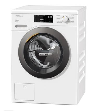 Miele WTD160 WCS Waschtrockner, Lotosweiß