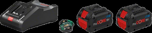 Bosch ProCORE Starter-Set 2 x ProCORE18V 8.0Ah + GAL 18V-160 C + GCY 42 (1600A016GP)