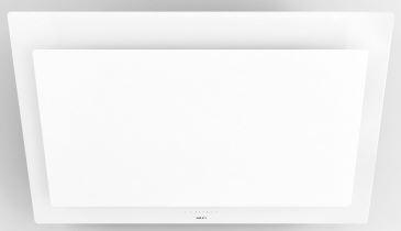Novy Vision Wandhaube 7839, Glas weiß Wandhaube, Umluftversion