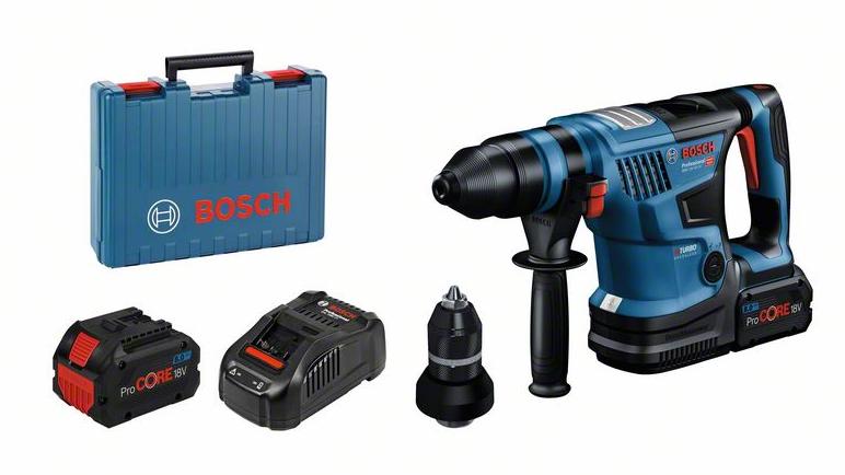 Bosch Professional Akku-Bohrhammer GBH 18V-34 CF (0611914002)